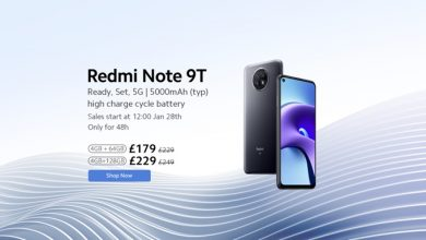 Photo of Xiaomi announces Redmi Note 9T for UK, bringing premium innovation and 5G speeds